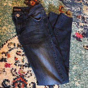 Juniors Crave Skinny Jeans
